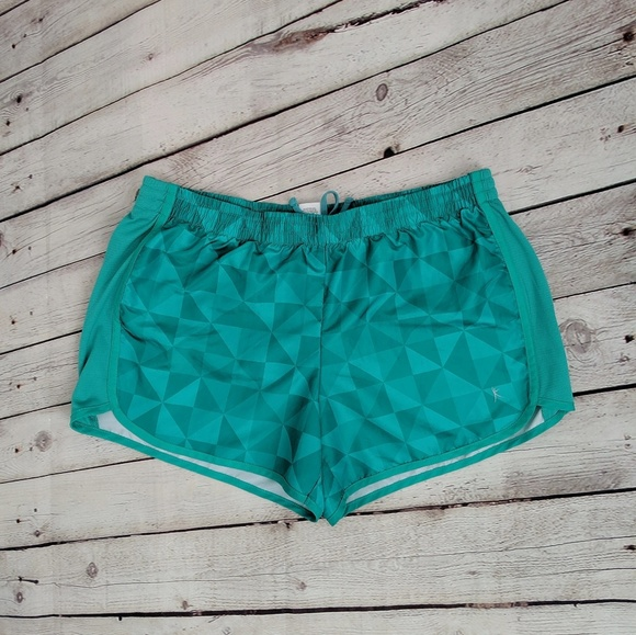 Danskin Now Pants - Danskin Now Green Athletic Shorts